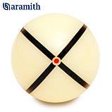 Тренировочный шар Snooker Aramith Nic Barrow`s 52,4 мм для игры в Снукер, фото 3
