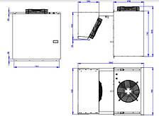 Моноблок морозильный BGM 330 S (-15...-20С) (40 м.куб), фото 2