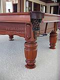 Бильярдный стол для пула Виват 7 футов Ардезия 2.0 м х 1.0 м из натурального дерева, фото 5