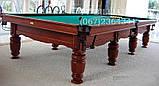 Бильярдный стол для пула Виват 7 футов Ардезия 2.0 м х 1.0 м из натурального дерева, фото 6