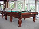 Бильярдный стол для пула Виват 7 футов Ардезия 2.0 м х 1.0 м из натурального дерева, фото 7