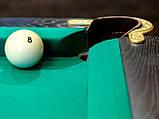Більярдний стіл для пулу Далас 11 футбол Ардезія 3.2 м х 1.6 м з натурального дерева, фото 6