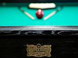 Більярдний стіл для пулу Далас 11 футбол Ардезія 3.2 м х 1.6 м з натурального дерева, фото 7