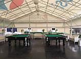 Бильярдный стол для пула КЛАССИК 2 ЛЮКС 9 футов Ардезия 2.6 м х 1.3 м из натурального дерева, фото 7
