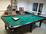 Бильярдный стол для пула ОСКАР 6 футов ЛДСП 1.8 м х 0.9 м из натурального дерева, фото 5