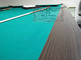 Більярдний стіл для пулу ОСКАР 7 футів ЛДСП 2.0 м х 1.0 м з натурального дерева, фото 6