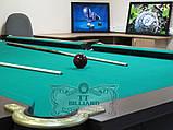 Більярдний стіл для пулу ОСКАР 8 футів ЛДСП 2.2 м х 1.1 м з натурального дерева, фото 8