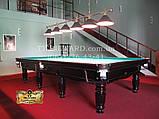 Бильярдный стол для пула СИРИУС 7 футов Ардезия 2.0 м х 1.0 м из натурального дерева, фото 5