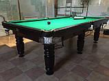 Бильярдный стол для пула СИРИУС 7 футов Ардезия 2.0 м х 1.0 м из натурального дерева, фото 9