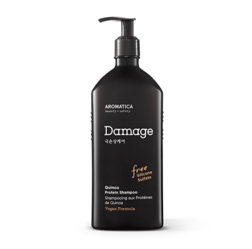 Aromatica Quinoa Protein Shampoo Шампунь с киноа для повреждённых волос, 400 мл