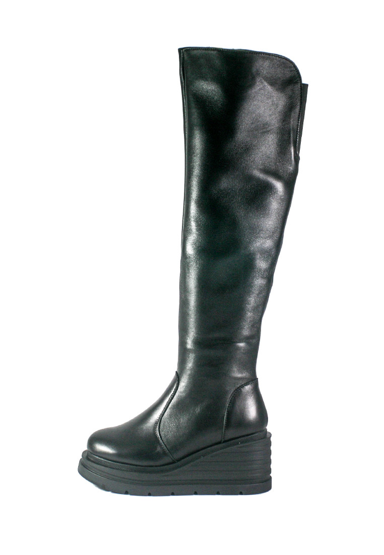 Чоботи зимові жіночі SND чорний 21783 (36)