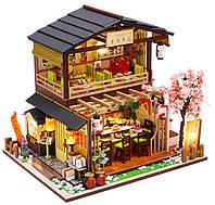 """3D Румбокс """"Японский Суши-Ресторан"""" Кукольный Домик DIY Roombox DollHouse от CuteBee (G306)"""