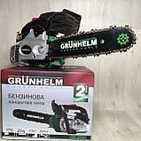 Одноручная маленькая  Бензопила Grunhelm GS-2500 Сучкорез, фото 6