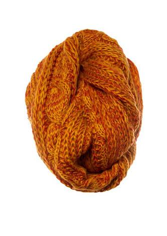 Красивый оригинальный теплый зимний вязаный шарфик Польша., фото 2