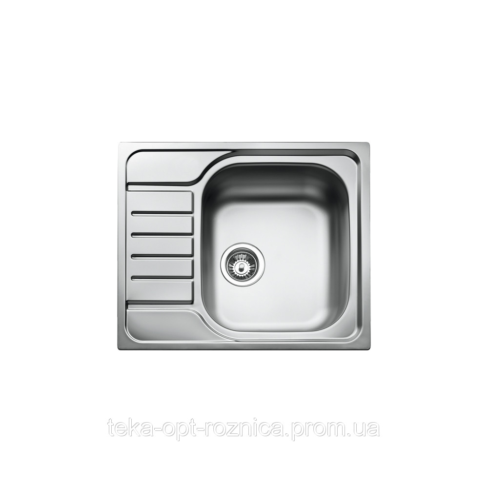 Кухонная мойка Тека CLASSIC 1B ½ D с крылом 58*50 матовая