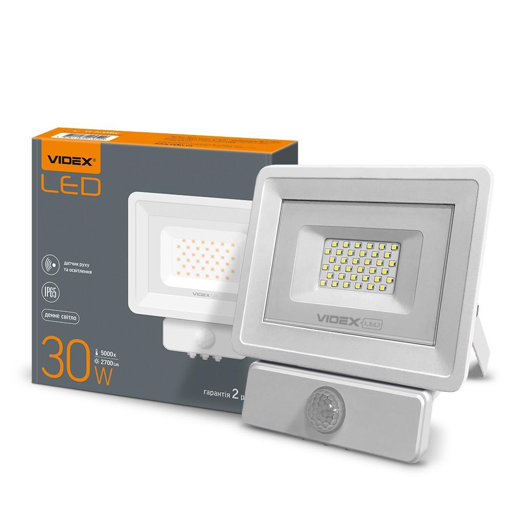 Прожектор LED VIDEX 30W 5000K 220V (VL-Fe-305W-S) Сенсорний 20 шт