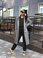 "Пальто жіноче модель: 20042 (42, 44, 46, 48) ""NOBILITAS"" недорого від прямого постачальника"
