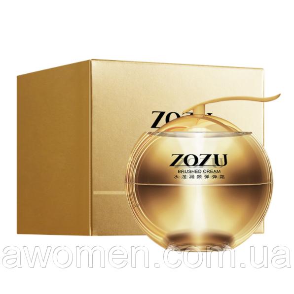 Крем для обличчя ZOZU Brushed Cream Elastic and Delicate з колагеном і тутовым шовкопрядом 45 g