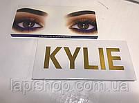 Тени Kylie 12 цветов + кисточка Палетка теней, фото 3