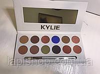 Тени Kylie 12 цветов + кисточка Палетка теней, фото 4