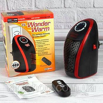 Портативный обогреватель в розетку Wonder Warm 400 Ватт с пультом