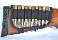 Патронташ на приклад на 10 патронов (7,62 нарезные) камуфляж цвет 2