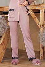 Розовые женские пижамные штаны Долорес