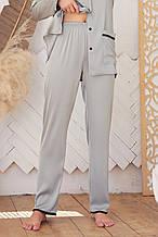 Женские пижамные штаны оливкового цвета Зоряна
