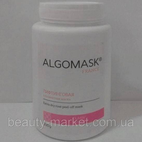 Лифтинговая альгинатная маска Extra dry rose peel-off mask, Algomask