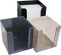 Бокс для бумаги Бокс для бумаги 9х9х9 см Economix E32601, фото 1