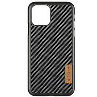"Карбоновая накладка G-Case Dark series для Apple iPhone 11 (6.1"") Черный"