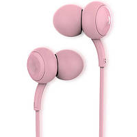 Наушники Remax RM-510 с микрофоном Розовый