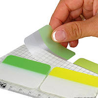 Закладка бумажная неонова 3х38х45мм,30 шт.