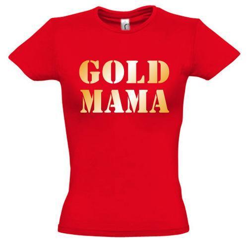 Футболка Gold мама 2