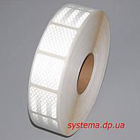 3M™ SL997-10S Diamond Grade™ - Маркировочная световозвращающая сегментированная лента 52 мм х 50 м, белая