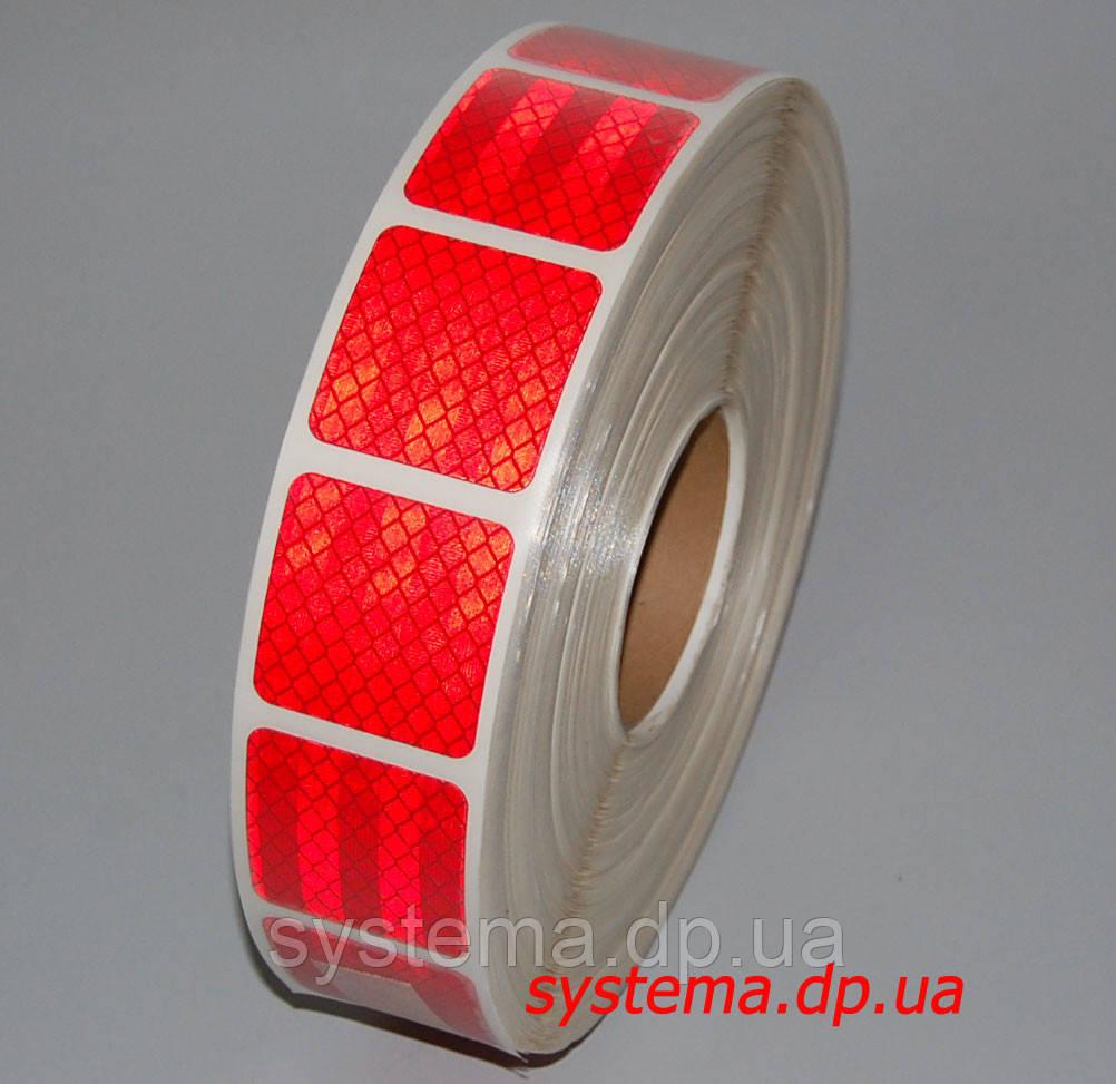 3M™ SL997-72S Diamond Grade™ - Маркировочная световозвращающая сегментированная лента 52 мм х 50 м, красная