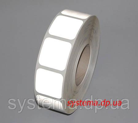 3М SL957S-10 Scotchlight - Маркировочная световозвращающая сегментированная лента 51 мм х 50 м, белая, фото 2