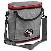 Термосумка (работает без аккумуляторов!) Spokey ICECUBE 1 927378, ланч бокс, сумка-холодильник 4л