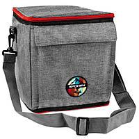 Термосумка (работает без аккумуляторов!) Spokey ICECUBE 4 927381, ланч-бокс, сумка-холодильник 12л