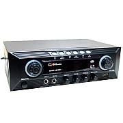Підсилювач звуку CMaudio CS-30 BT AC/DC 12V Bluetooth | USB,SD,FM,MP3 | Караоке на 2 мікрофона