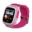 Детские умные часы-телефон с GPS трекером Smart Watch Q90 Розовые, фото 2