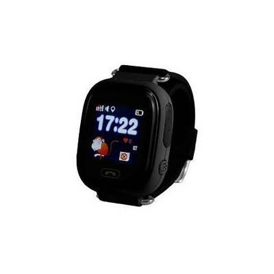 Дитячі смарт годинник Smart Baby Watch Q90 з GPS трекером Чорний (i2070)