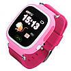 Смарт-часы UWatch Q90 детские с GPS трекером Pink (1058-7791), фото 3