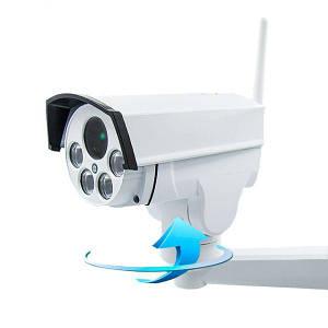 4G камера видеонаблюдения Unitoptek NC947G-PTZ Белый (100021)