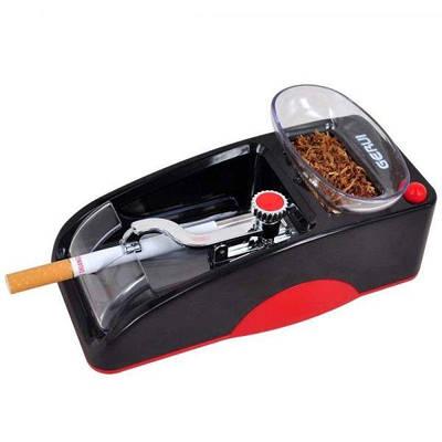 Машинка для набивки сигарет электрическая Gerui GR-12, Красная (100073)