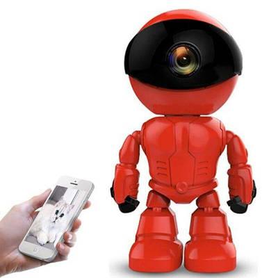 Поворотная WIFI камера Zilnk R004 Красная (100234)