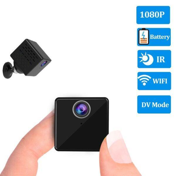 Мини wifi камера Vstarcam C90S Черный (100378)