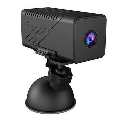 Wifi мини камера с аккумулятором 3000 мАч Jianshu А6, 2 Мегапикселя, 1080P время работы до 20 часов  (100380)