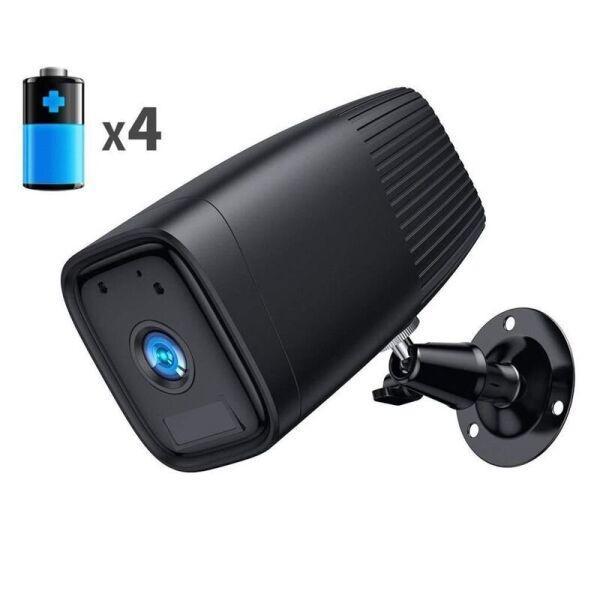 Автономная wifi камера Sdeter B-12 Черная (100393)