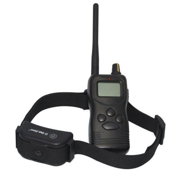 Электроошейник для собак Petainer 900-B1 с током для дрессировки дальность до 1 км (100547)